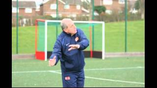 Peter Shilton visits Allestree Juniors FC at the University of Derby