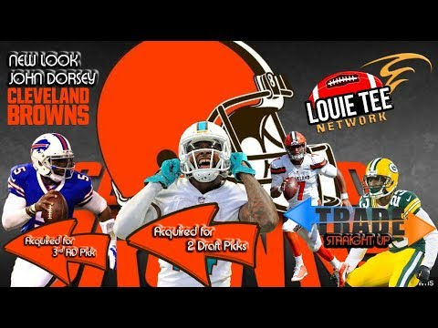 NFL TRADES & MORE | New Look Browns, Rams & Trade Les & Rich Get Richer (Eagles)🏈🏈🏈 #LouieTeeLive