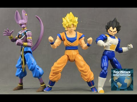 Dragon Ball Super Dragon Stars Wave 1 Figures Review