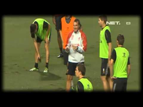 NET24 - Luis Suarez Tampil Bersama Liverpool Di Thailand