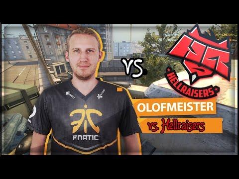 CS:GO Olofmeister vs HellRaisers • Map: de_Overpass • Moscow 2016 • CSGO OLOFMEISTER FNATIC •