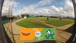 Roseburg Indians Baseball vs  Sheldon Irish (4/10/18)