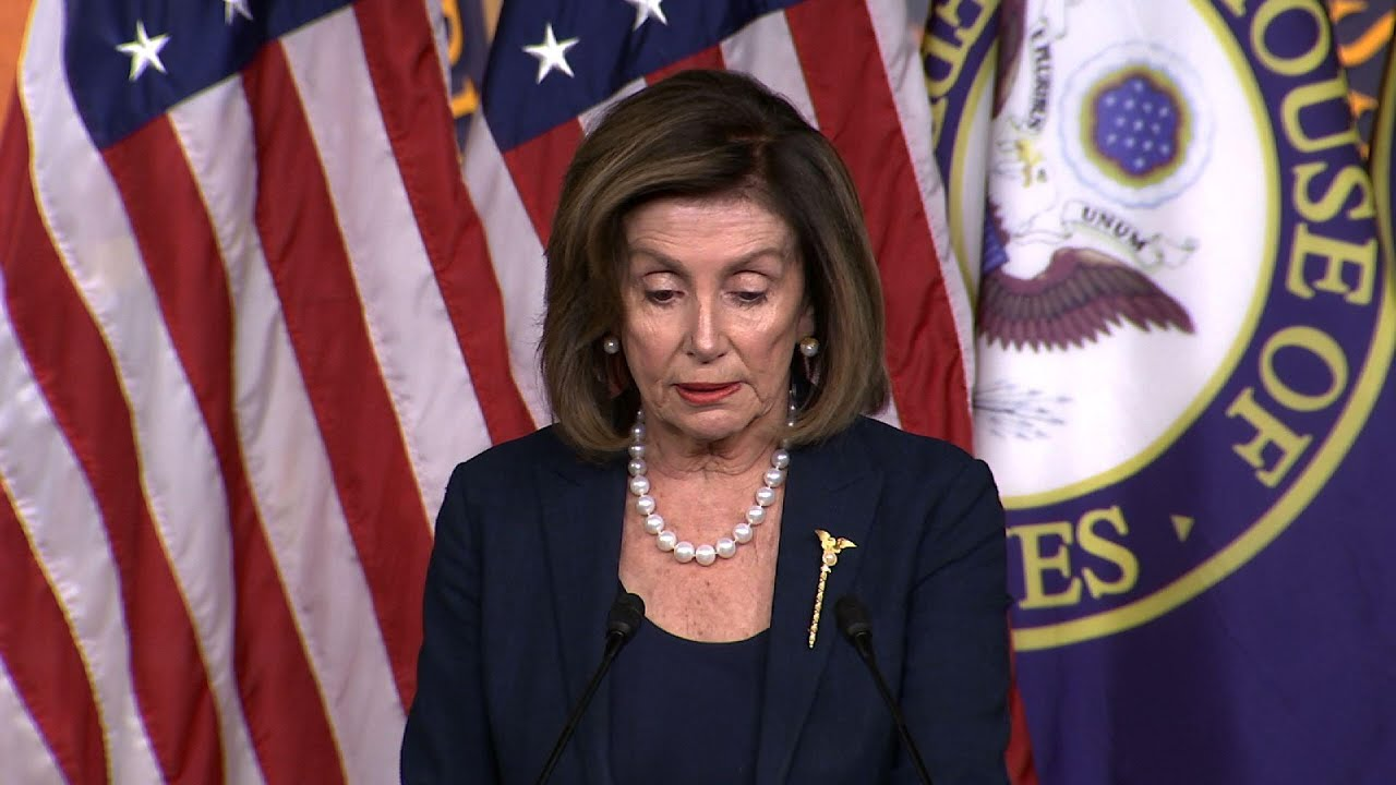 Pelosi: GAO confirms White House 'broke the law'