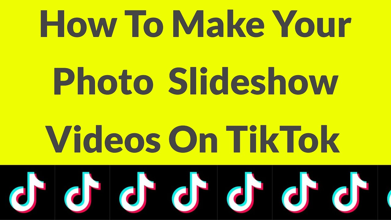 How To Make A Photo Slideshow Video On Tik Tok For Android Iphone 2021 Youtube