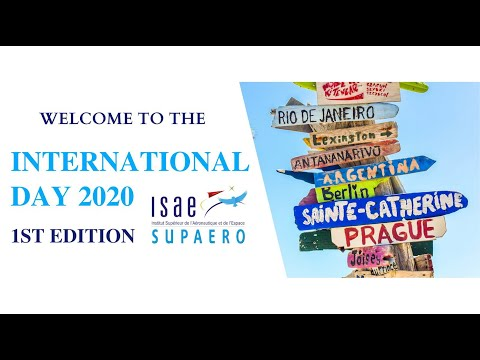 1st International Day at ISAE-SUPAERO - February 27, 2020