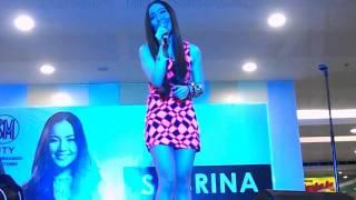 Saranghae-Sabrina Orial at SM Downtown