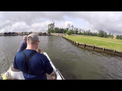 CATFISHING LAKE CONROE TX