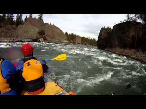 Lower Spokane River Drift March 2013