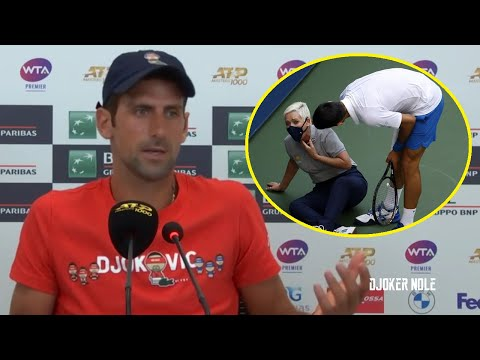 Novak Djokovic First Time about Disqualification - Rome 2020 (HD)