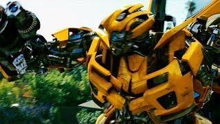 Bumblebee vs Mini-Cons - Transformers: Revenge of the Fallen (2009) Movie Clip HD