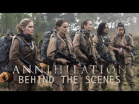 'Annihilation' Behind The Scenes