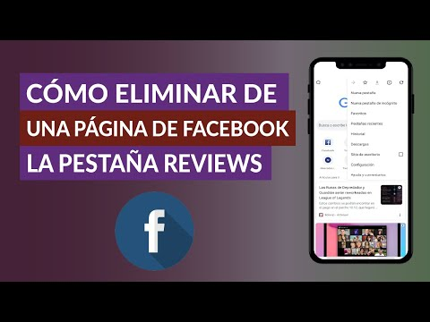 Cómo Eliminar o Mover de una Página de Facebook la Pestaña Reviews (Opiniones)