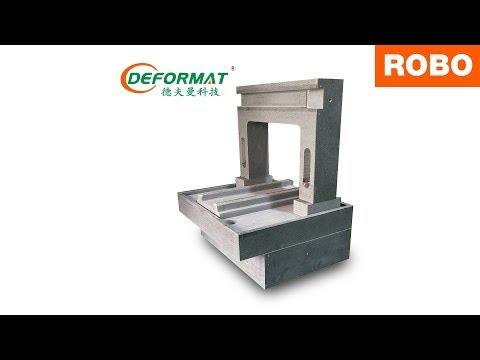 Multi-Spindle Granite Machining by Deformat - Robo CNC