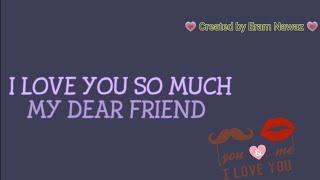Happy Birthday wishes to dear friend // WhatsApp status video