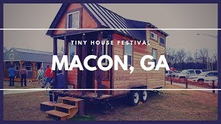 Tiny House Festival 2019 - Macon, Ga #tinyhouse #skoolie