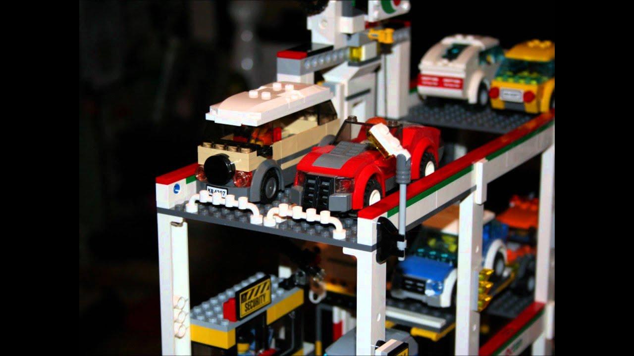 Lego 4207 Car Park Garage Wmv Youtube