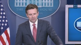 8/29/16: White House Press Briefing