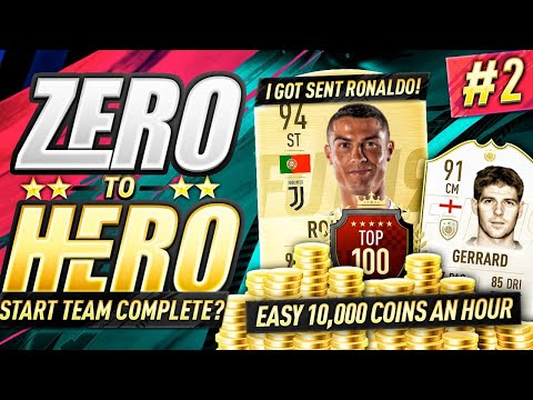 I GOT SENT RONALDO! FIFA 19 ZERO TO HERO