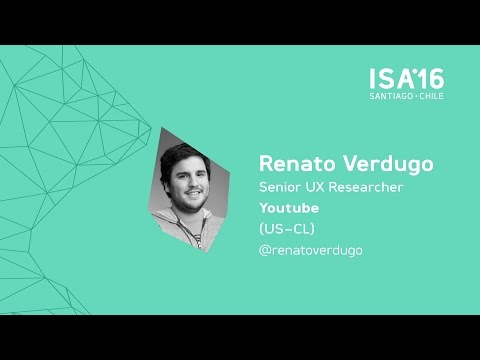 [ISA16] Renato Verdugo: Research as co-development