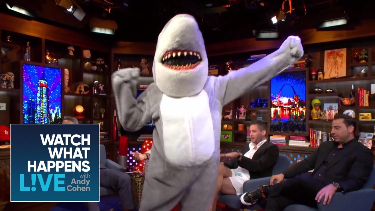 Gay Shark Dance Party Wwhl Youtube
