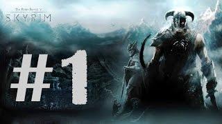 Прохождение The Elder Scroull 5: Skyrim (Вдвоём) Часть 1