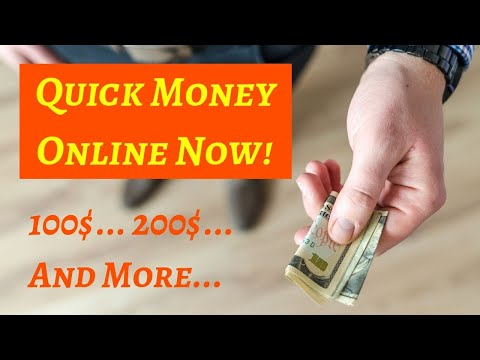 How To Make Quick Money Online! With John Crestani