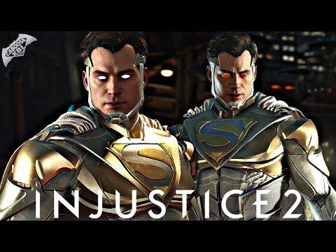 Injustice 2 Online - LEGENDARY GOLD SUPERMAN!