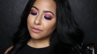 Purple & Orange Summer Tutorial | Misstiffanykaee