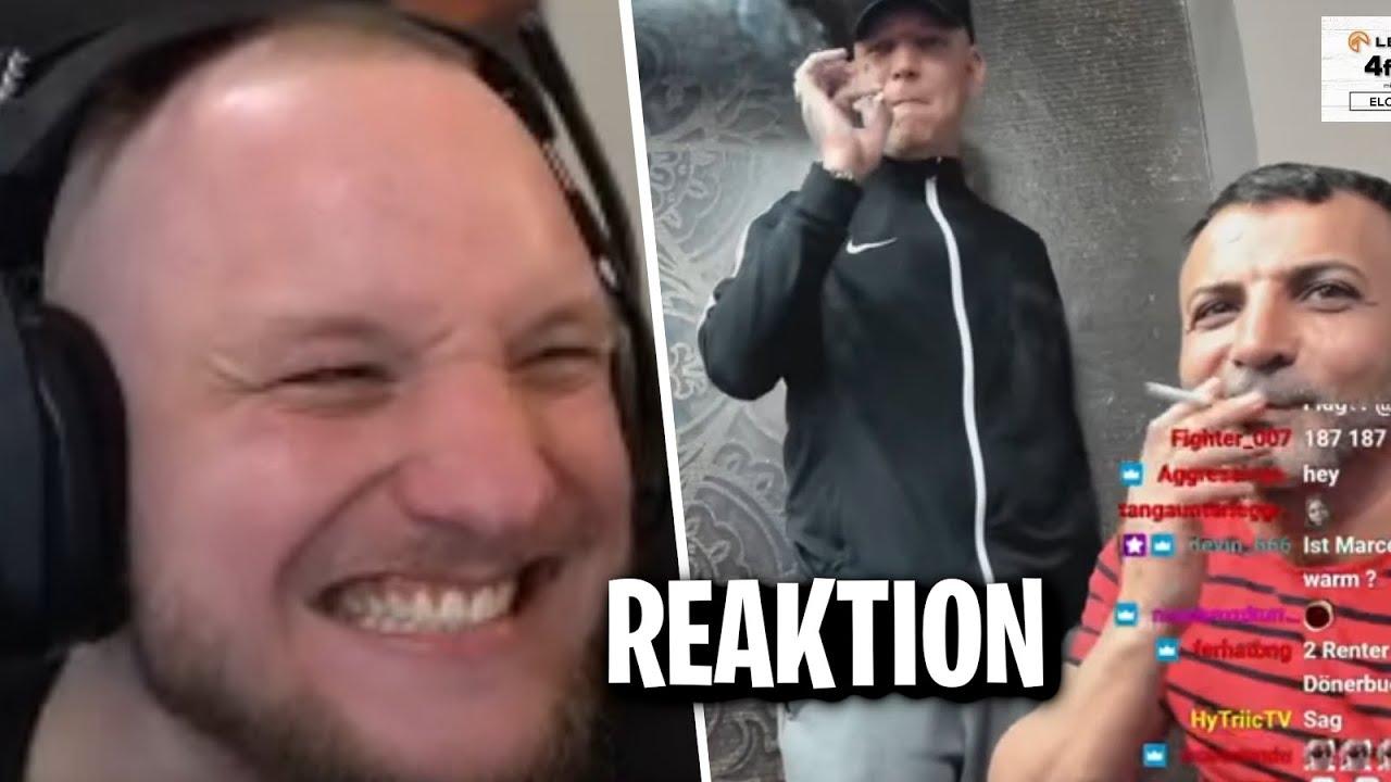 "REAKTION auf ""IMAGINÄRE FREUNDIN"" - SATTER HUGO | ELoTRiX Livestream Highlights"