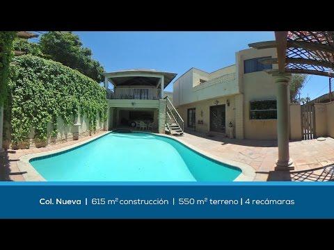 Amplia residencia en Col. Nueva - Mexicali B.C. - Video tour 360