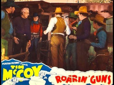 Roarin Guns western movie full length starring Tim McCoy