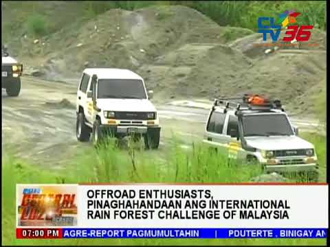 Offroad enthusiasts, pinaghahandaan ang International Rainforest Challenge of Malaysia | CLTV36