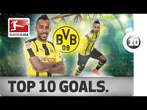 Pierre-Emerick Aubameyang - Top 10 Spectacular Goals