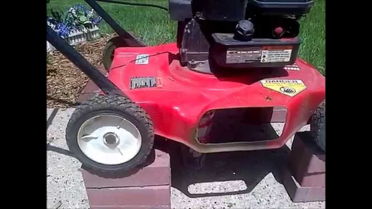 Change Mower Oil YOURSELF - Briggs and Stratton