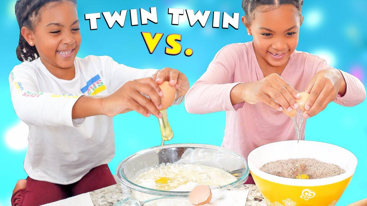Twin Vs Twin BAKING Challenge!