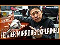 Why You Need These. What are JDM Fender Mirrors? - Datsun 280Z Build Series #22