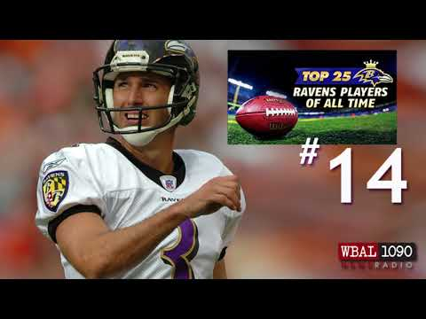 The Top 25 Ravens Players Of All Time: # 14 Matt Stover