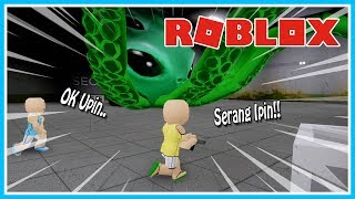 Stressful!!! THE BATTLE OF ALIEN MONSTERS-ROBLOX UPIN IPIN