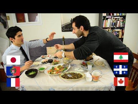 FRAJALICAN EP 3: FOOD & TABLE MANNERS - JAPAN VS LEBANON