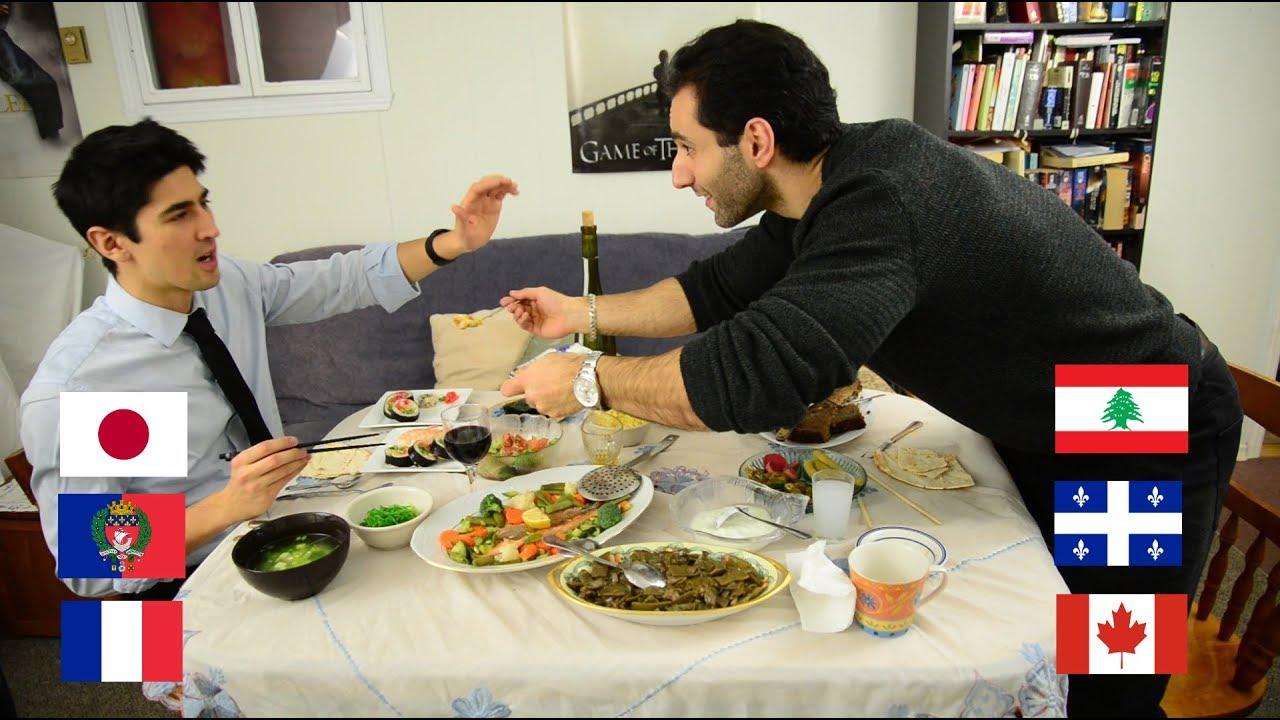 FRAJALICAN EP 3: FOOD & TABLE MANNERS – JAPAN VS LEBANON