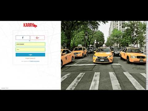 Uber Clone | Karry | Online Taxi Booking Website Software | Uber Clone Website Booking