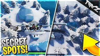 EVERY SECRET LOCATION IN FORTNITE SEASON 7! NEW ZIP LINES, SECRET ISLANDS & MORE! (Fortnite v7.0)