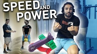Increase Speed and Power with Resistance Bands