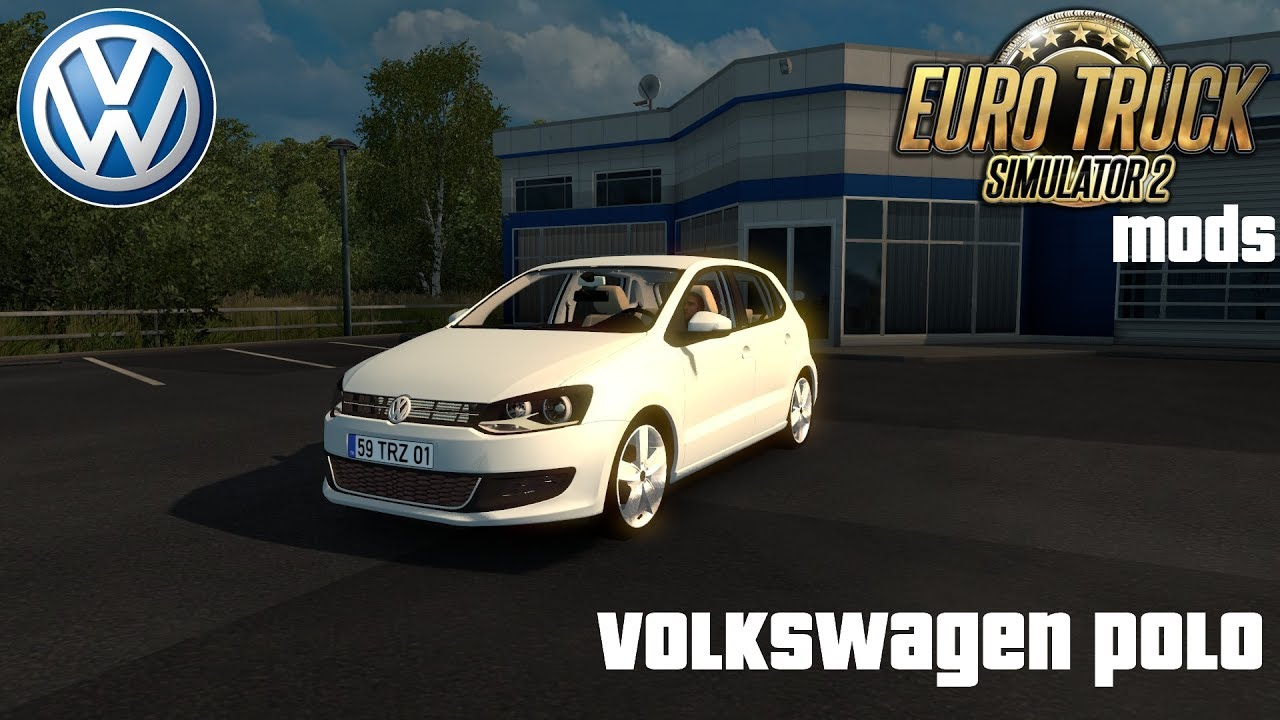 Euro Truck Simulator 2 Mods Volkswagen Polo Youtube