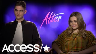 """""""After"""" stars Hero Fiennes-Tiffin and Josephine Langford talk with ..."""