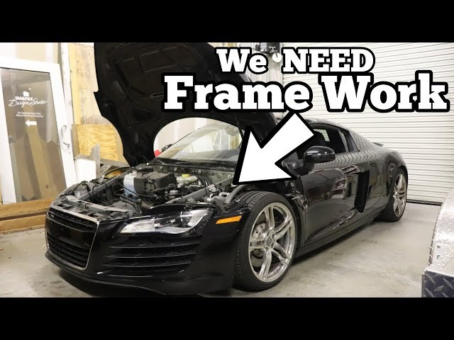 Heres Why My Cheap Audi R8 was TOTALED! Major Factory Flaw Made my R8 Salvage!