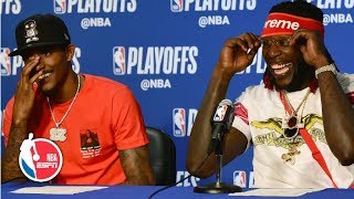 Lou Williams: Warriors' 'mistake for looking ahead' to Rockets' | 2019 NBA Playoffs