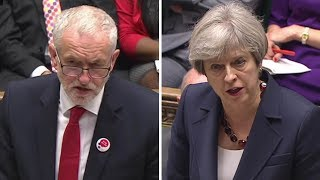 Corbyn takes on May at first post-general election PMQs thumbnail