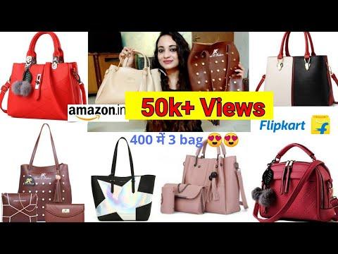 3343f1bd584 Unboxing Flipkart Affordable Handbags, Flipkart high rating handbags,online  shopping and review – Shopping time