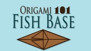 Origami 101: Fish Base Fold {easy} | Nekkoart